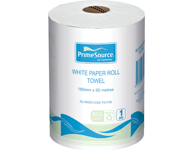 Washroom Paper Roll Towels (180 mm x 90m)