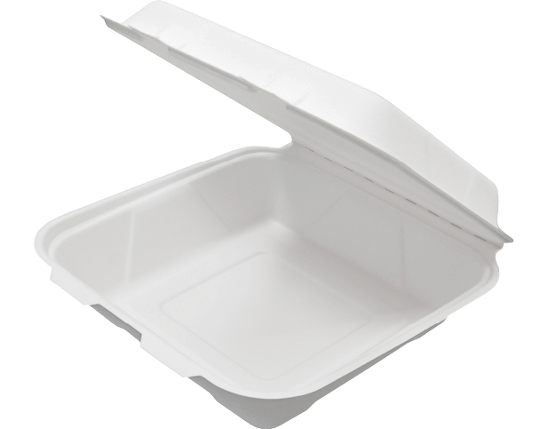 Enviroboard® Food Clams Paper Containers - Dinner Packs (Large)