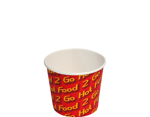 Hot Food 2 Go™ Chip Cups (Small) | Takeaway Containers