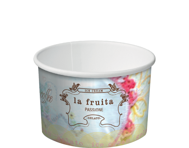 Ice Cream & Gelato Paper Cups (2 Scoop 5 oz)