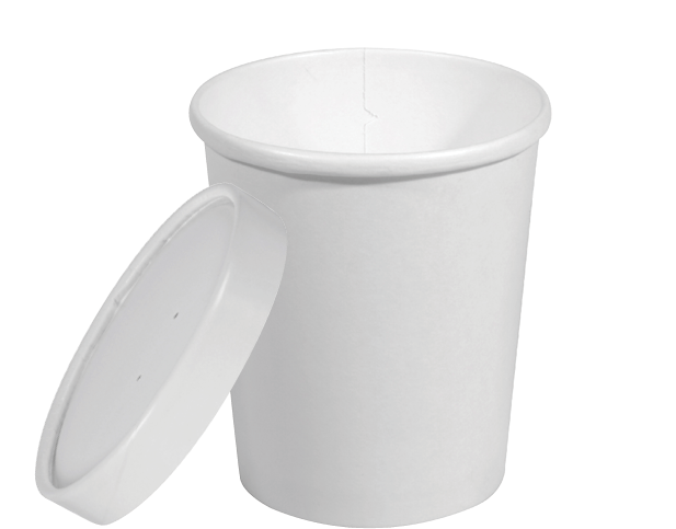 Heavy Weight Paper Round Food Containers (Extra Large)