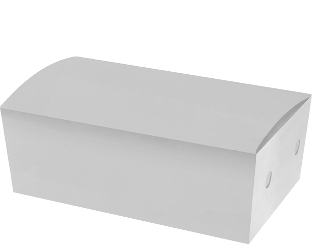 White Snack Box (Large) | Paper Food Containers
