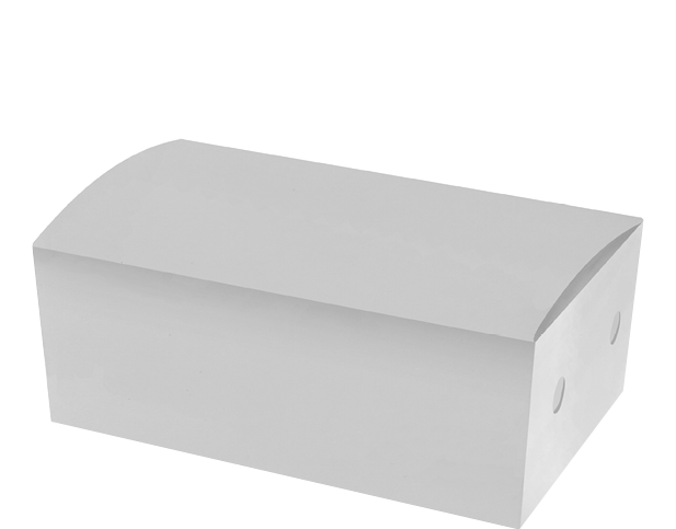 White Snack Box (Medium) | Paper Food Containers