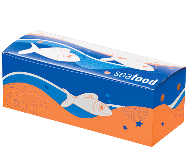 Seafood Snack Boxes (Medium) | Paper Food Containers