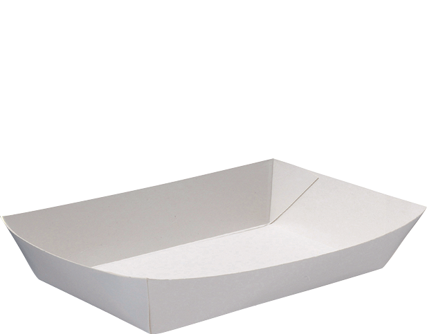 Rediserve White Paper Food Trays #6 Family