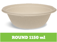 Enviroboard® Round Containers 1150 ml