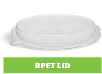 Enviroboard® Round Containers rPET Lid