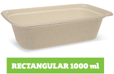 Enviroboard® Rectangle Containers 1000 ml