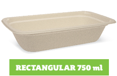 Enviroboard® Rectangle Containers 750 ml