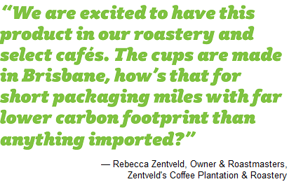 Quote from Rebecca Zentveld, Owner & Roastmistress,