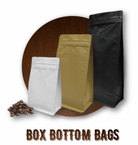 Coffee Bags Box Bottom