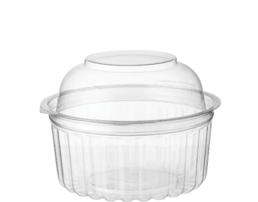 Clearview® Food Bowls with Dome Lid (341ml / 12oz)