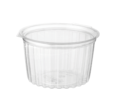 Clearview® Food Bowls with Flat Lid (455ml / 16oz)