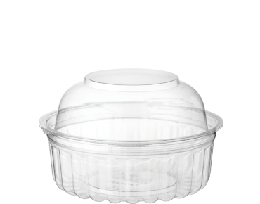 Clearview® Food Bowls with Dome Lid (227ml / 8oz)