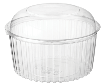 Clearview® Food Bowls with Dome Lid (1364ml / 48oz)