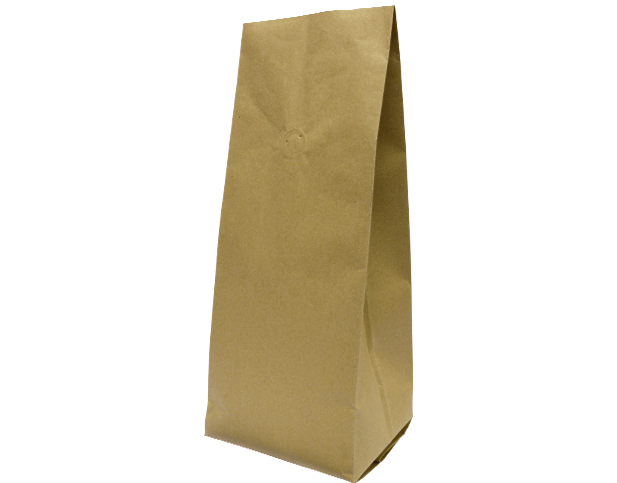 1kg Side Gusset Coffee Bag | K-Seal | Brown Kraf