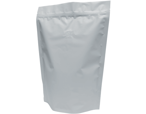 1kg Stand-Up Coffee Pouch (Matte White)