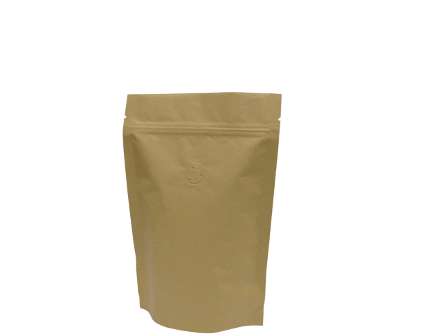 250g Stand-Up Coffee Pouch (Brown Kraft)