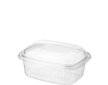 BettaSeal® Rectangular Plastic Food Containers with Lid (Snack)