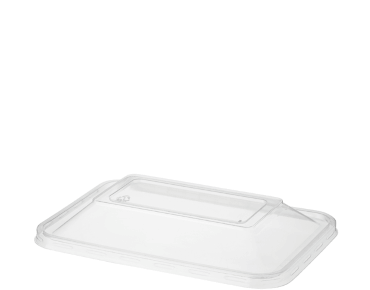 MicroReady® Rectangle Plastic Container Dome Lids