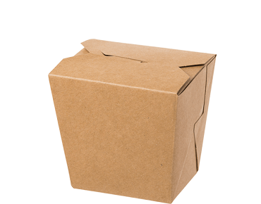 Brown Takeaway Box without Handles (16oz)