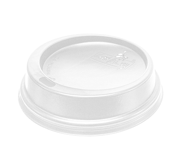 Foam Cup Classic SnapOn Lid (White 8oz)