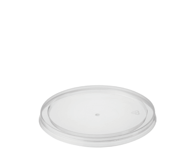 Reveal® Clear Round | Portion Control Plastic Container Lids