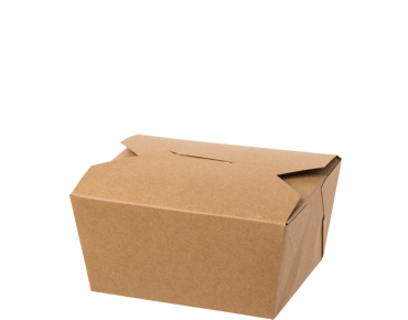 Meal Pails Takeaway Food Box (Small #1 Brown)