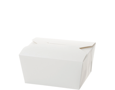 Meal Pails Takeaway Food Box (Small #1 White)