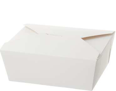 Meal Pails Takeaway Food Box (Extra Large #4 White)