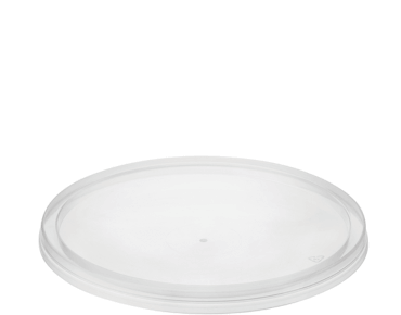 MicroReady® Round Takeaway Plastic Container Flat Lids