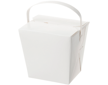 Chinese Takeaway Box with Handles (32oz)