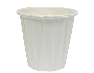 Pleated Paper Water Cup (3.5 oz / 105 ml)