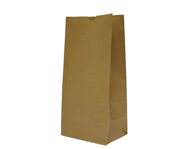 Takeaway Brown Paper Bag (#12 SOS Flat Bottom)