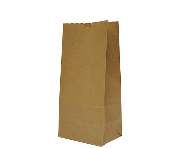 Takeaway Brown Paper Bags (Size #8 SOS Flat Bottom)