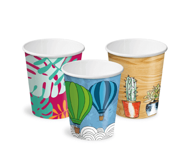Creative Collection 8 oz Classic Single Wall Paper Coffee Cups