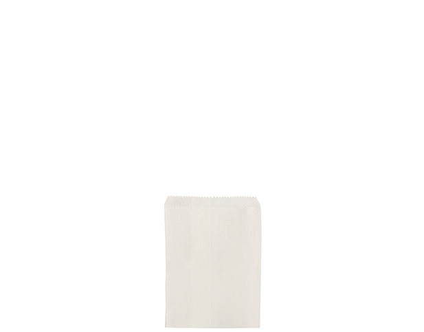 Flat White Paper Bags (Size 1/4)