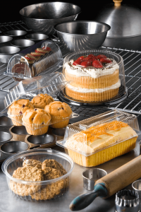 Castaway Clearview Bakery Containers