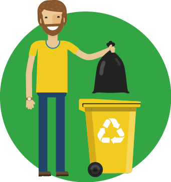 Design your bin system and communicate it clearly.