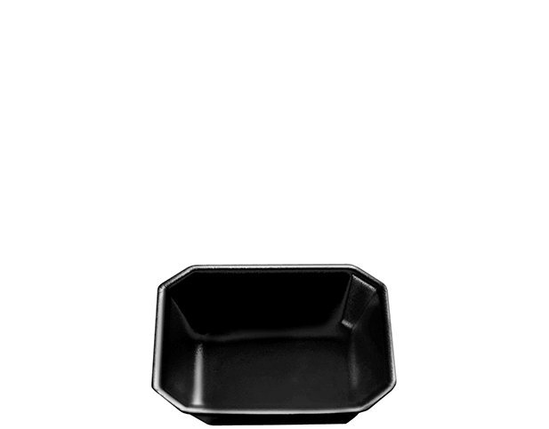 FTX Gourmet Foam Trays (Black, 6 x 5 inches)