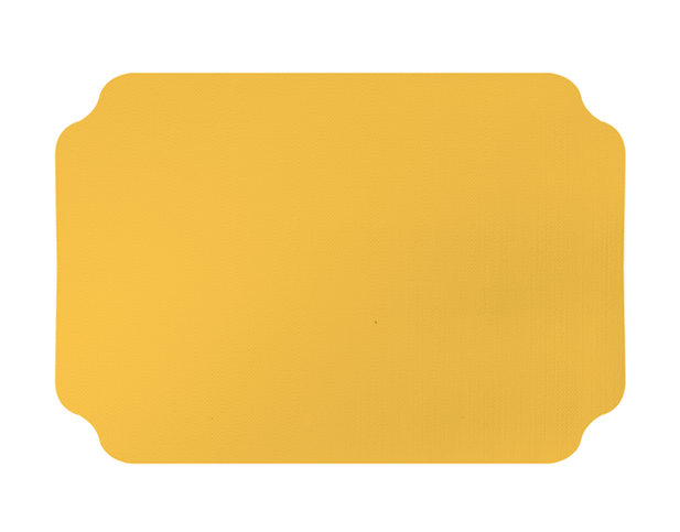 Parego® Placemats with Ritz design (Gold, 240 x 350 mm)