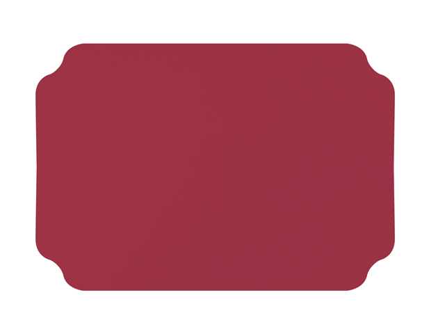 Parego® Placemats with Ritz design (Wine Red)