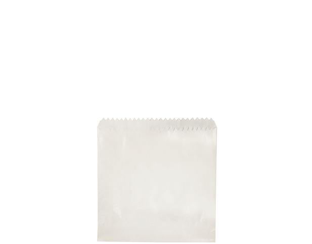 Greaseproof Lined Paper Bags (Size #5 x 5 1/2)