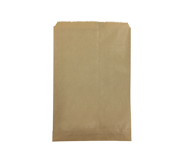 Flat Brown Paper Bags (Size #2)