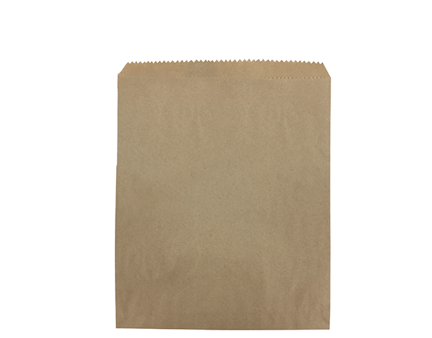 Flat Brown Paper Bags (Size #3)