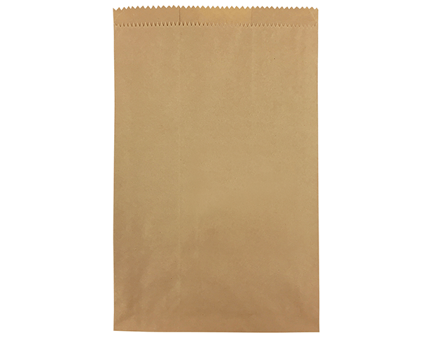 Flat Brown Paper Bags (Size #8)