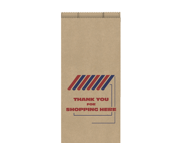 High Wet Strength Brown Paper Bags (Medium)