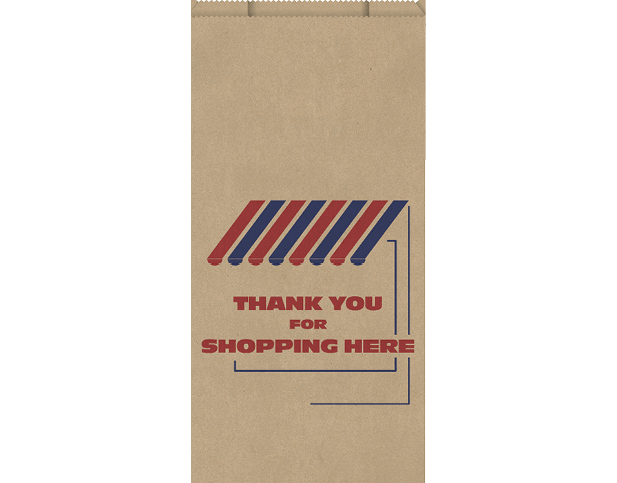 High Wet Strength Brown Paper Bags (Large)
