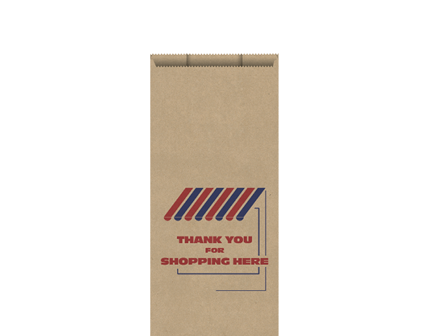 High Wet Strength Brown Paper Bags (Small)