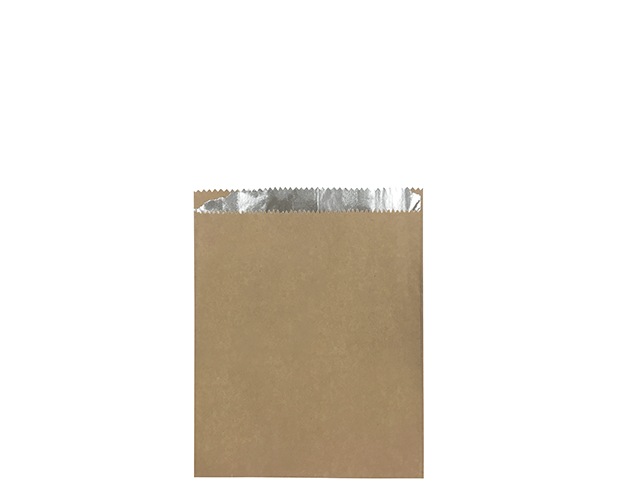 Foil Lined Paper Bags (Small Brown)